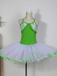 Kids' Dancewear Tops Tutus Dresses Skirts Children's Cotton Tulle Sleeveless