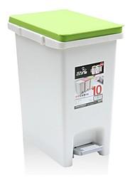 """plaza de basura cubo sanitario de la basura doméstica puede plástico 3.4 """"* 11.2"""" * 13.6 """""""