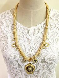 моды металлические популярной личностью ожерелье женщин