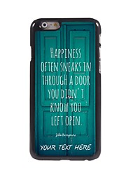 Personalized Phone Case - Door Design Metal Case for iPhone 6