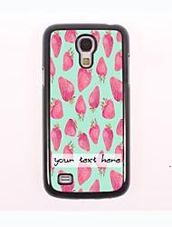 caja del teléfono personalizado - caso del diseño del metal de fresa para el Samsung Galaxy S4