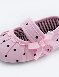 Baby Calçados - Sapatilhas - Rosa - Tecido - Casamento / Social / Casual / Festas & Noite