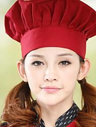 restaurante uniformes chapéus de chef (mais cores)