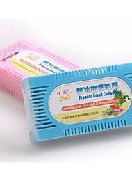 frigorifero deodorante, plastica 13 × 6,5 × 3,5 centimetri (5,2 × 2,6 × 1,4 pollici) colore casuale