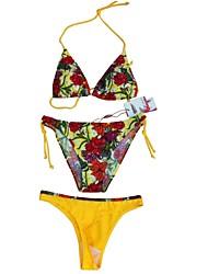 Foclassy® Women's Push-Up Bikini Three Pieces With T-Back