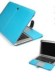 """einfarbig PU-Leder Ganzkörper-Case für MacBook Air 13 """""""