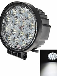"KAWELL®42W Round 4.5"" LED for ATV/boat/suv/truck/car/atvs/fishing/Deck Driving light Off Road Led Spot Work Light"