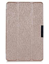 cubierta tímido funda de piel de seda de lujo oso ™ para el nuevo Iconia Acer hd b1-730 tableta de 7 pulgadas