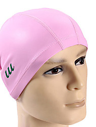 Youyou Unisex High Quality PU Waterproof Anti-Slip Hair Protection Ear Protection Swimming Cap