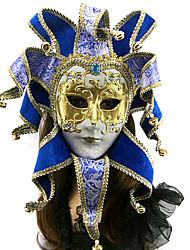 lusso corona laser tagliare la carta veneziana maschera di carnevale