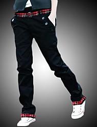 Men's Single Belt Casual Pants