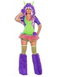 Новый взгляд любовь пушистый монстр Хэллоуин костюм