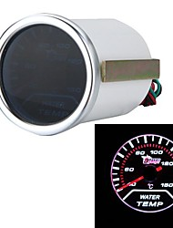 "2"" 52mm White LED Water Temp Gauge Car Autometer Water Temperature Meter Sensor"