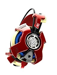 E-3LUE THS901 Ironman3  Breathing Light Gaming Headphone USB on-ear with Microphone Headphone for PC