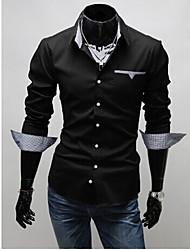 camisa de algodón purificado de los hombres casuales PlayGame