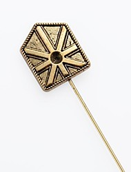union jack britannique de drapeau de bouclier boutonnière corsage punaise Broche