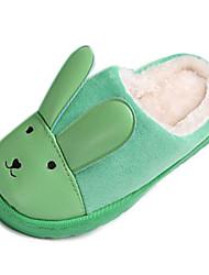 Zapatillas ( Azul/Verde/Rosado ) - Dedo redondo - Vellón