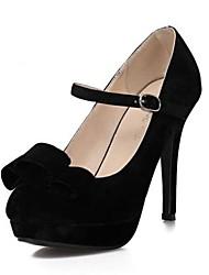 scarpe da donna pompe scarpe più colori disponibili punta rotonda stiletto tacco in pile
