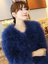 Fur Coats Short Section Ostrich Fur Wedding/Evening/Casual Coat(More Colors)