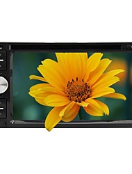 rungrace 6.2 inch universele 2 din in-dash auto dvd-speler met BT, rds, touch screen, atv, rl-263dnar03