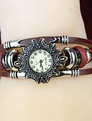 WW Women's Floral Print Wrapped Bracelet Wristwatches
