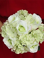 Elegant Fresh Flowers Wedding Bridal Bouquets(More Colors)