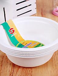 Disposable Paper Bowl,10Pcs/bag