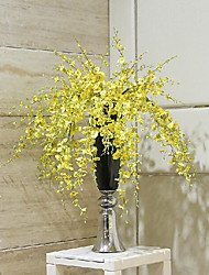 Multi Branches Fabric Oncidium Dancing Lady