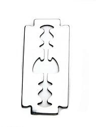 die kreative Bierflascheöffner Rasiermesser, rost 3.8 * 0.1 * 8.4cm