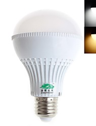 Zweihnder E26/E27 7 W 28 SMD 2835 600 LM Warm White/Cool White G Decorative Globe Bulbs AC 220-240 V
