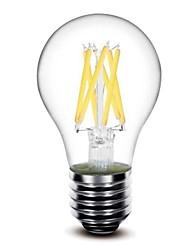 Lampes LED à Filament Blanc Chaud / Blanc Froid sml A60 E26/E27 6 W 6 COB 550 LM AC 100-240 V