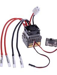 neewer® 320a 7.2v-16v alta tensão escovado controlador de velocidade esc para 1/8 1/10 rc off-road