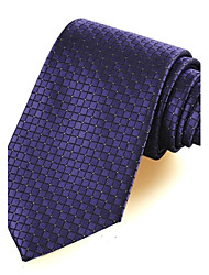 dom padrão verificado microfibra tie gravata feriado festa de casamento formal do baile de finalistas dos homens (6 cores avaliable)