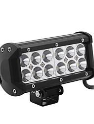 dy-sc6036 36w 3060lm 6000K 12-CREE LED Weißlichtpunktstrahl Geländelampe (10-30 V DC, schwarz)