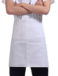 белый шеф-повар фартук