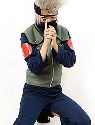 naruto kakashi hatake ninja de abajo&tergal&algodón traje de cosplay