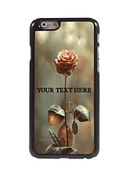 telefone personalizado caso - aumentou o design caixa de metal para o iPhone 6