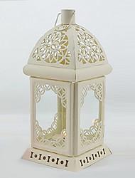 European Style White Candle Holder