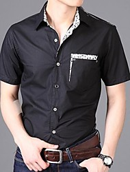 Men's Personality Sweet Color Fashion Leisure Shirt