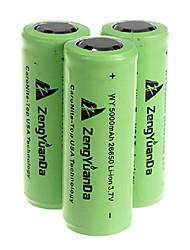 5000mah 26650 ricaricabile verde batteria (1pcs)