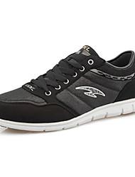Men's Running Shoes Leatherette Black/Blue/White