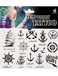 Fashion Temporary Tattoo Body Art Waterproof Stickers Safe Removable Multi Style  048