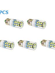 5 stuks E26/E27 12W 27 SMD 5050 1050 LM Warm wit / Koel wit LED-maïslampen AC 85-265 V