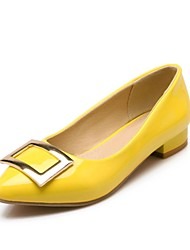 Women's Shoes Pointed Toe Chunky Heel Flats Shoes More Colors available