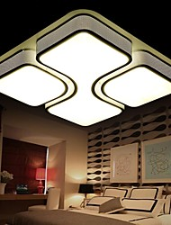 24 Flush Mount ,  Modern/Contemporary / Traditional/Classic Electroplated Feature for LED MetalLiving Room / Bedroom / Dining Room /