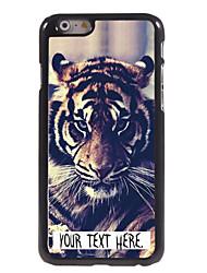 """caso tigre caso personalizado design de metal para iphone 6 (4.7 """")"""