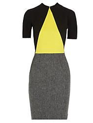 Ремень женский контраст цвета платье
