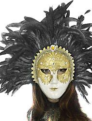 moda gelance strass oro stile veneziano maschera di carnevale