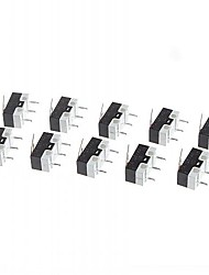 микро-переключатель для электроники DIY 125V / 1A (10 шт Pack)