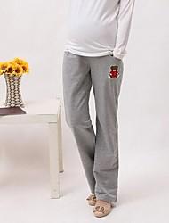 desenhos animados moletom maternidade mulheres grávidas calça casual ou calças de desgaste casa